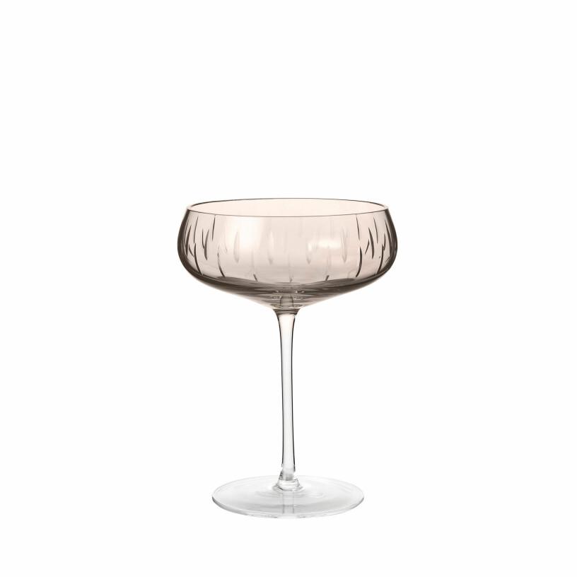 champagneglas louise roe rosa