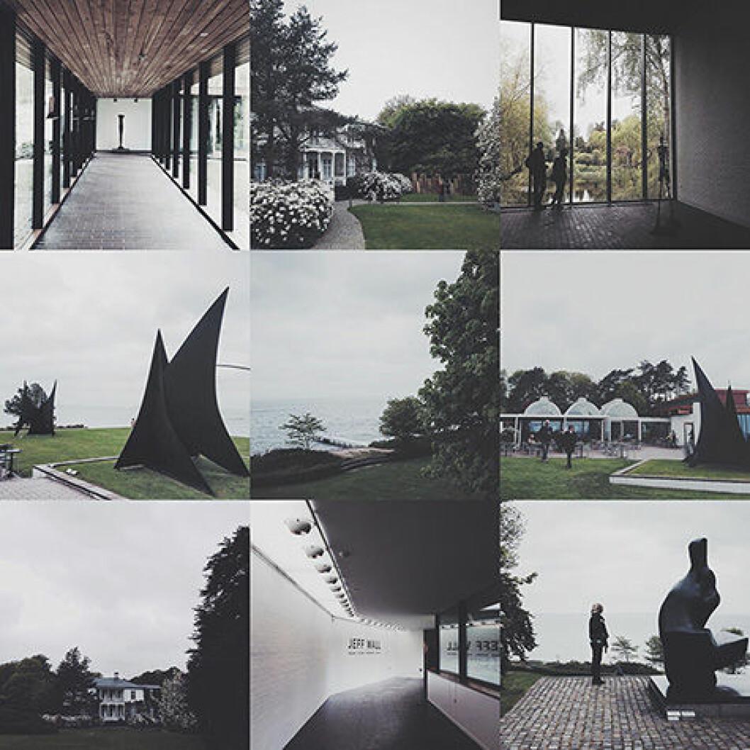 Besöka Louisiana efter att läst Anna-Malins inlägg om museet.