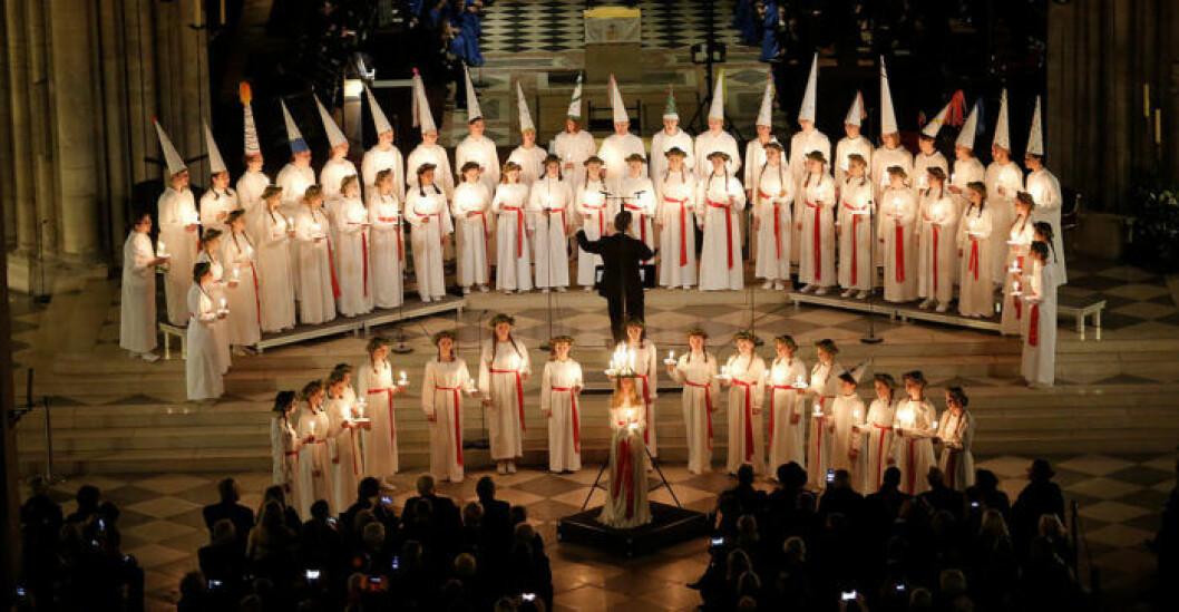 Flera gånger har hat riktats mot vuxna och barn som valt att vara Lucia.