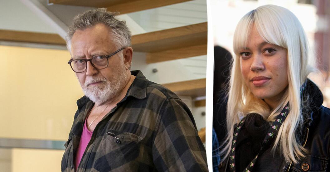 Ulf Lundell och Ninna Prage.