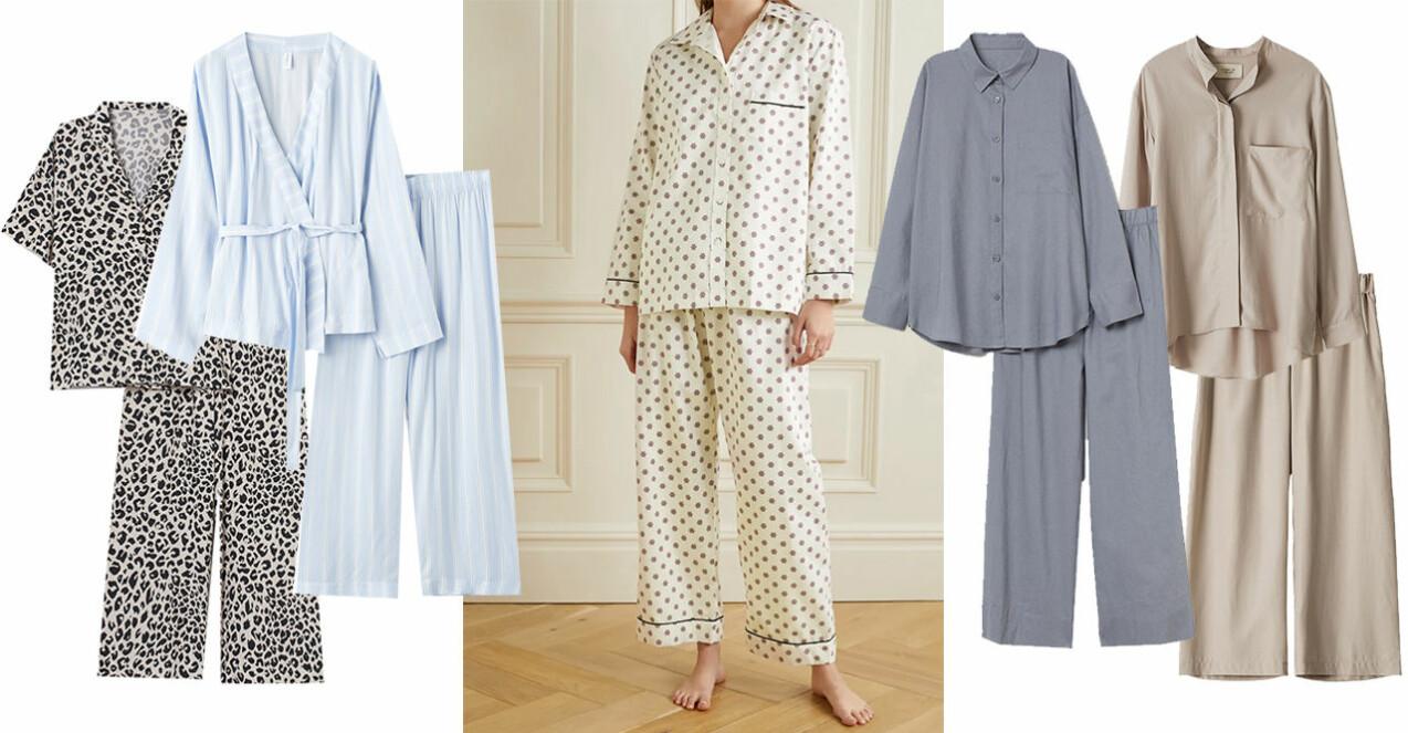 Lyxiga pyjamasset
