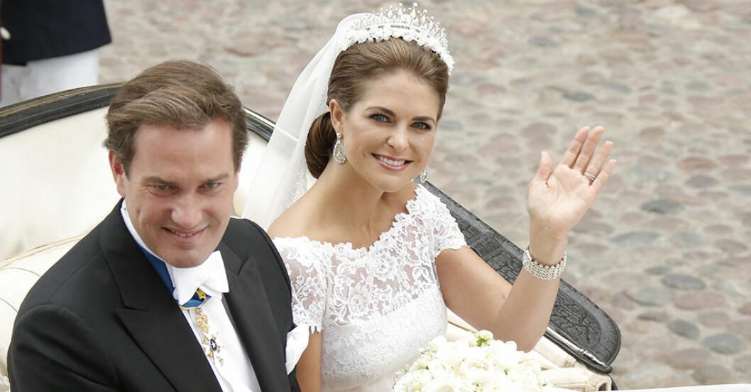 Prinsessan Madeleines bröllopsklänning