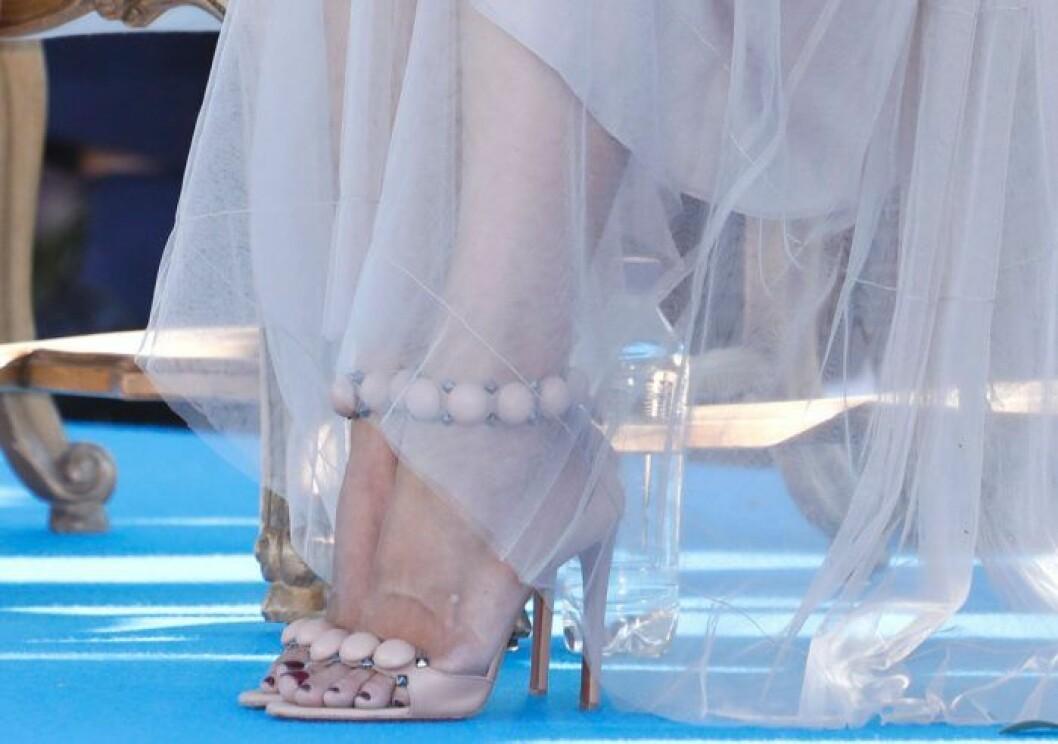 Prinsessan Madeleines skor vid Victoriadagen 2019.