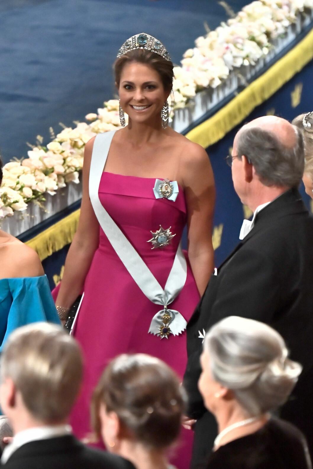 Prinsessan Madeleine på Nobel 2019.
