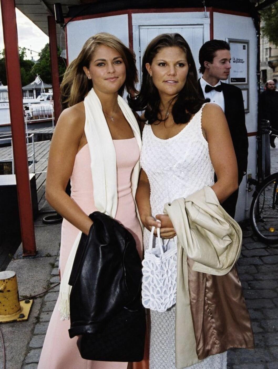prinsessan madeleine kronprinsessan victoria 2001