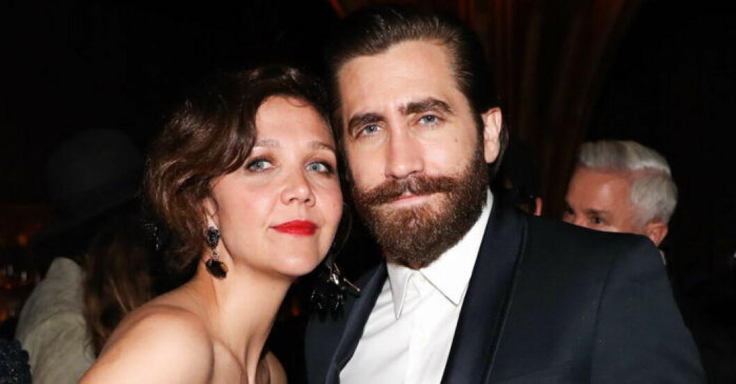 Maggie Gyllenhaal och Jake Gyllenhaal.