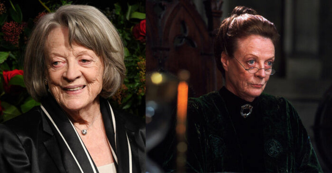 Maggie Smith i Harry Potter