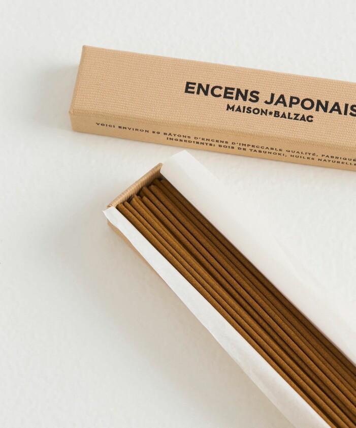 japansk rökelse med fransk inspiration
