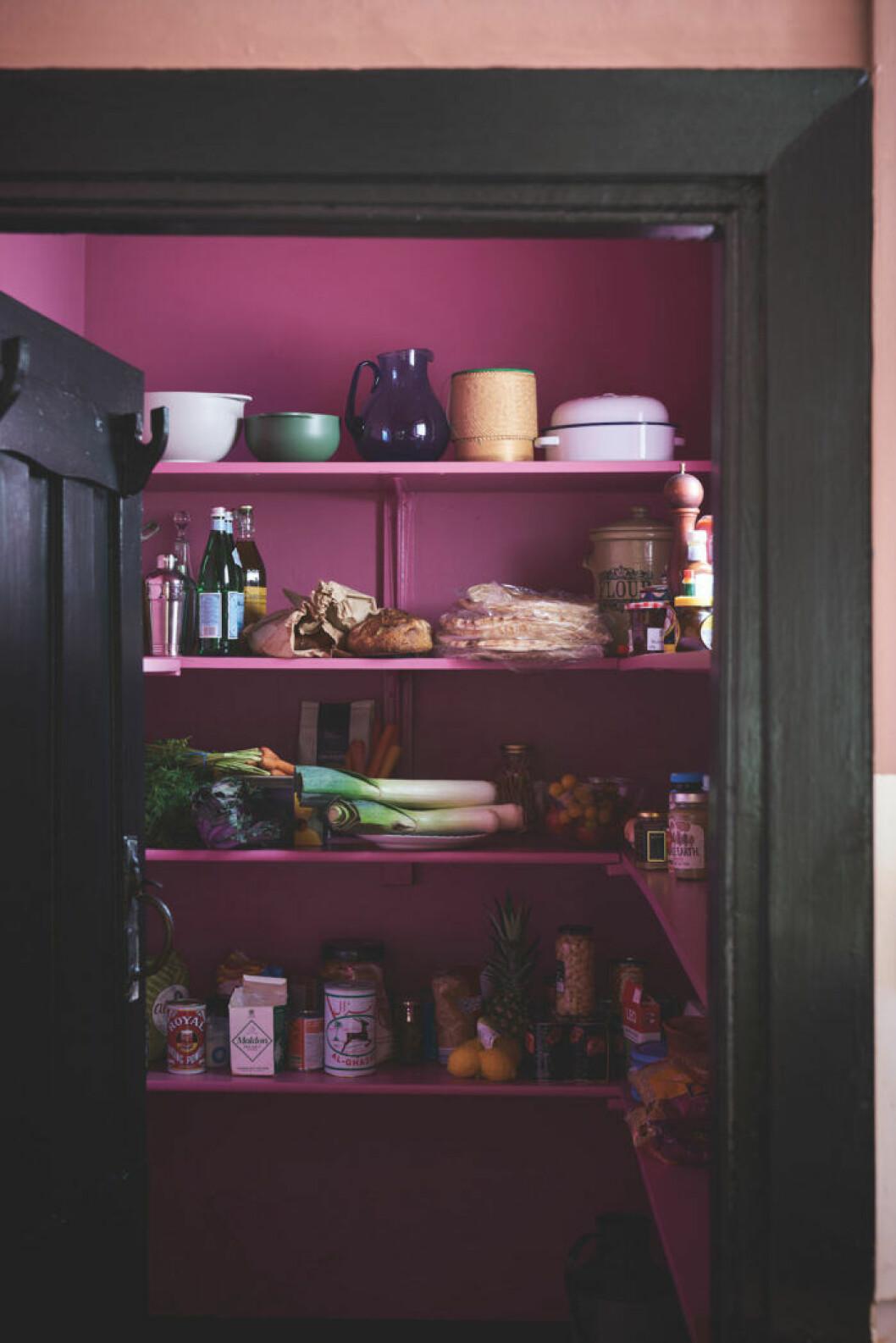 En oväntad färg gör din bostad minnesvärd