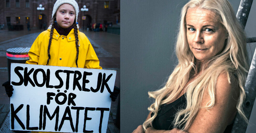 Malena Ernman Greta Thunberg