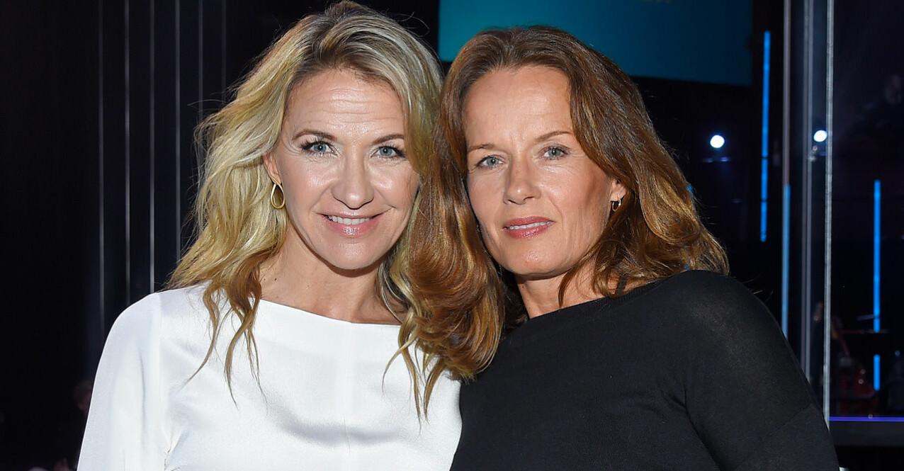 Malin Berghagen och Kristin Kaspersen