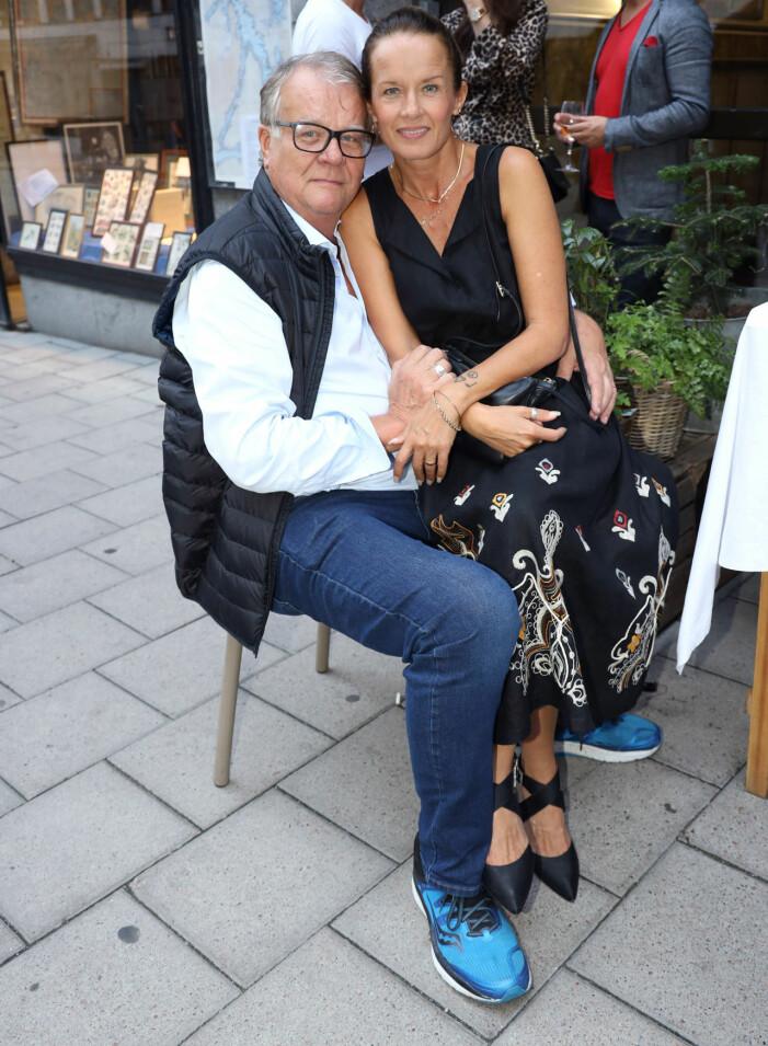 Malin Berghagen och pappa Lasse