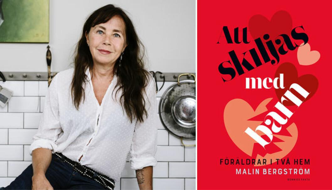 """Malin Bergström har skrivit boken """"Att skiljas med barn – Föräldrar i två hem"""""""