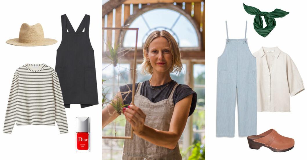 Malin Persson kläder Trädgårdstider