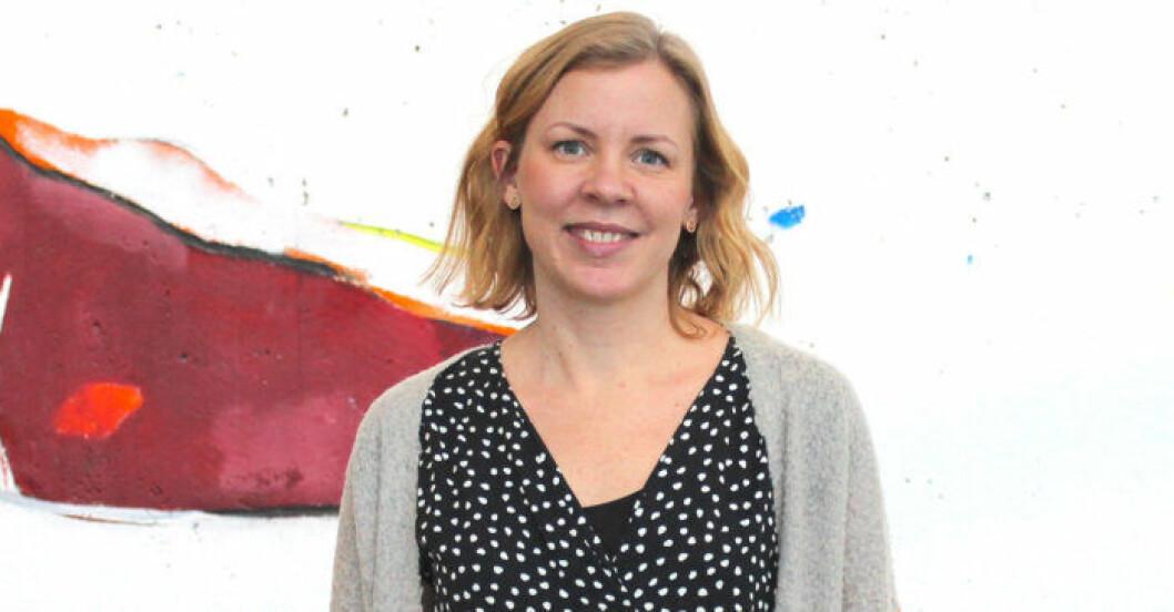 Hanna Gavelin Malmberg forskar på utmattning