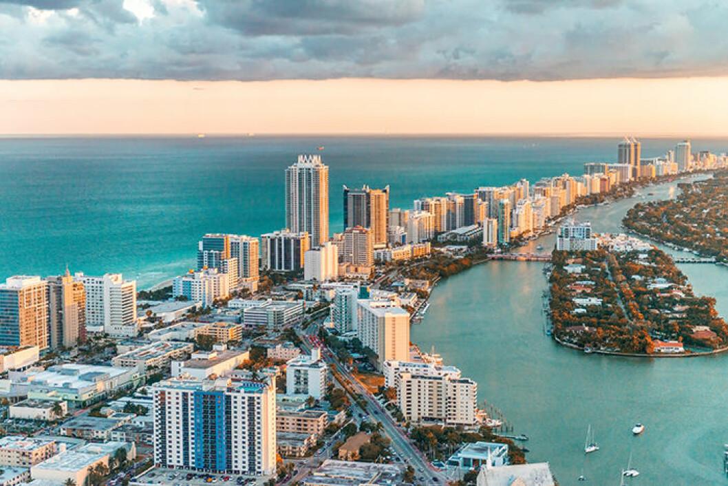 Miami är en av de trendiga städerna att besöka 2019