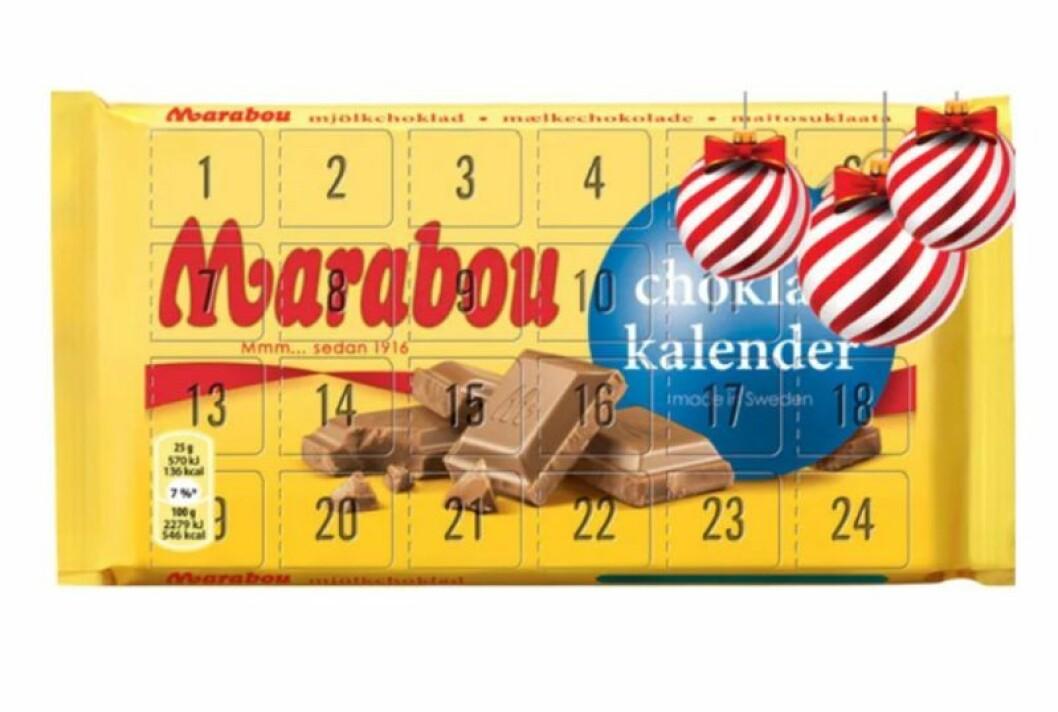 Chokladkalender MARABOu 2019