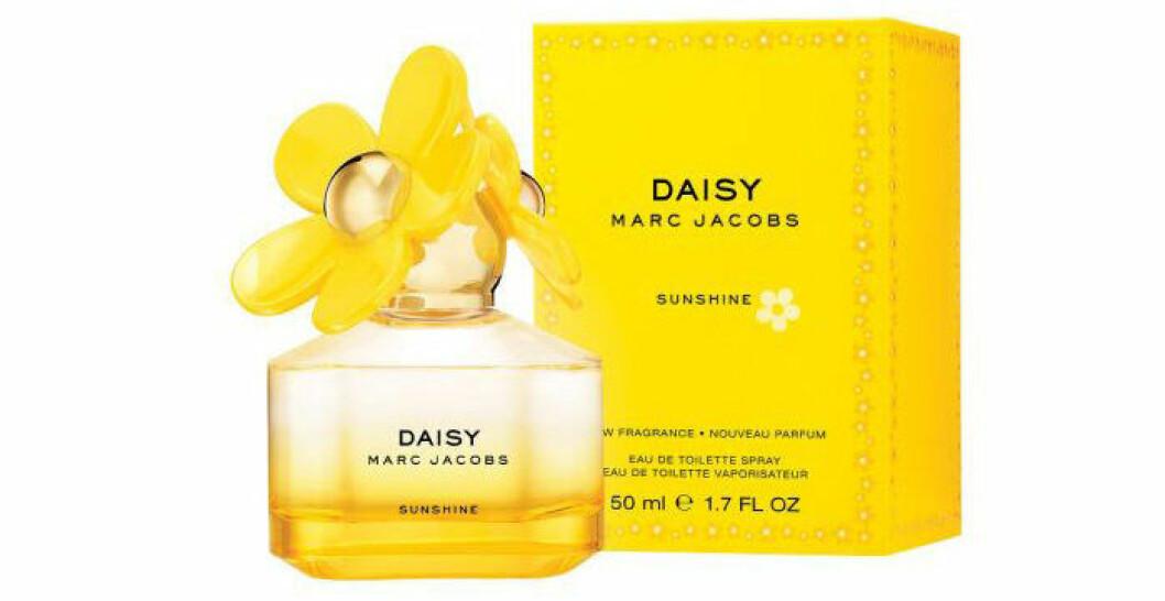 En bild på parfymen Marc Jacobs – Daisy Sunshine EdT som går att köpa på sajten Grand Parfymeri.
