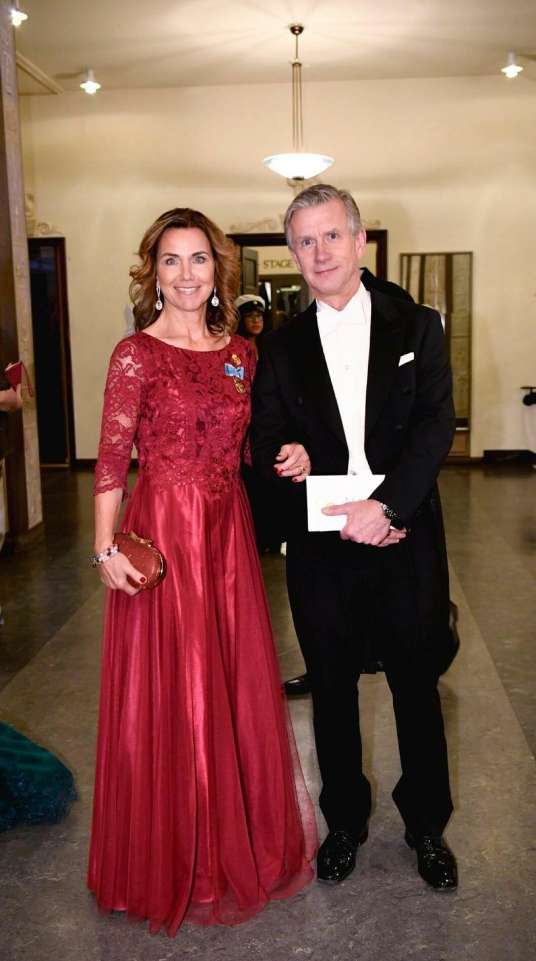 Margareta Thorgren och Magnus Thorgren på Nobel 2019