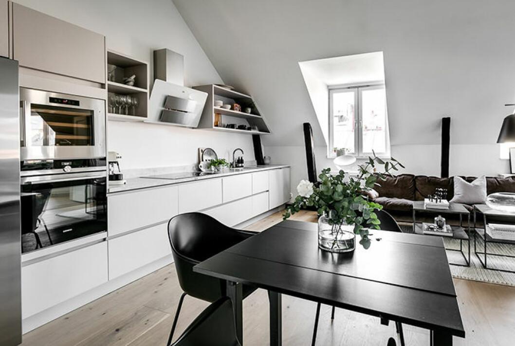 Margaux Dietz lägenhet i Stockholm