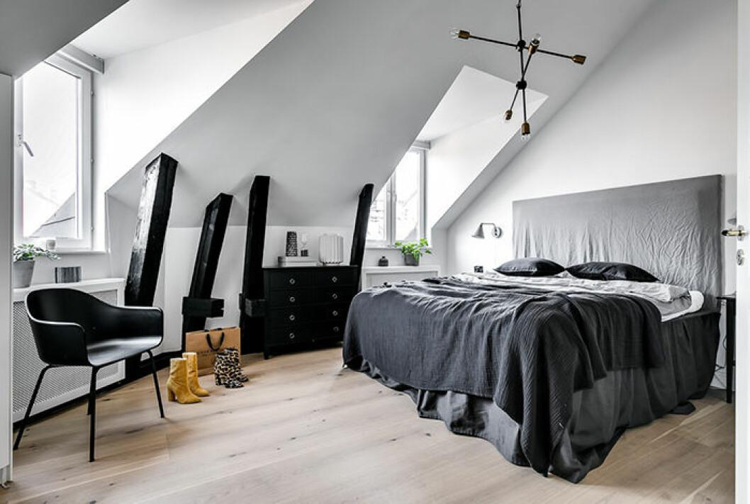 Margaux Dietz lägenhet –sovrummet