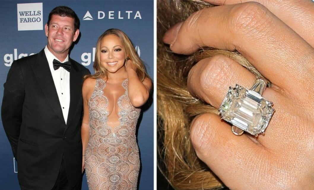Mariah Carey och James Packer