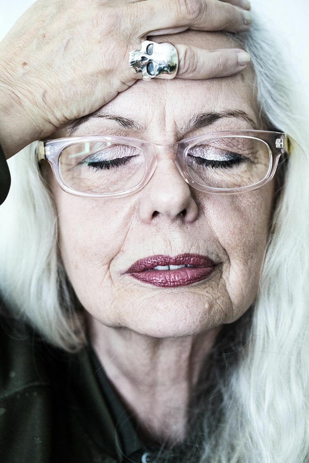 Porträtt på Marianne Lindberg De Geer.