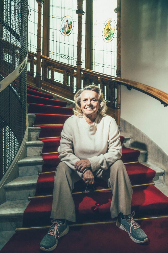 Marie Göranzon, skådespelare.
