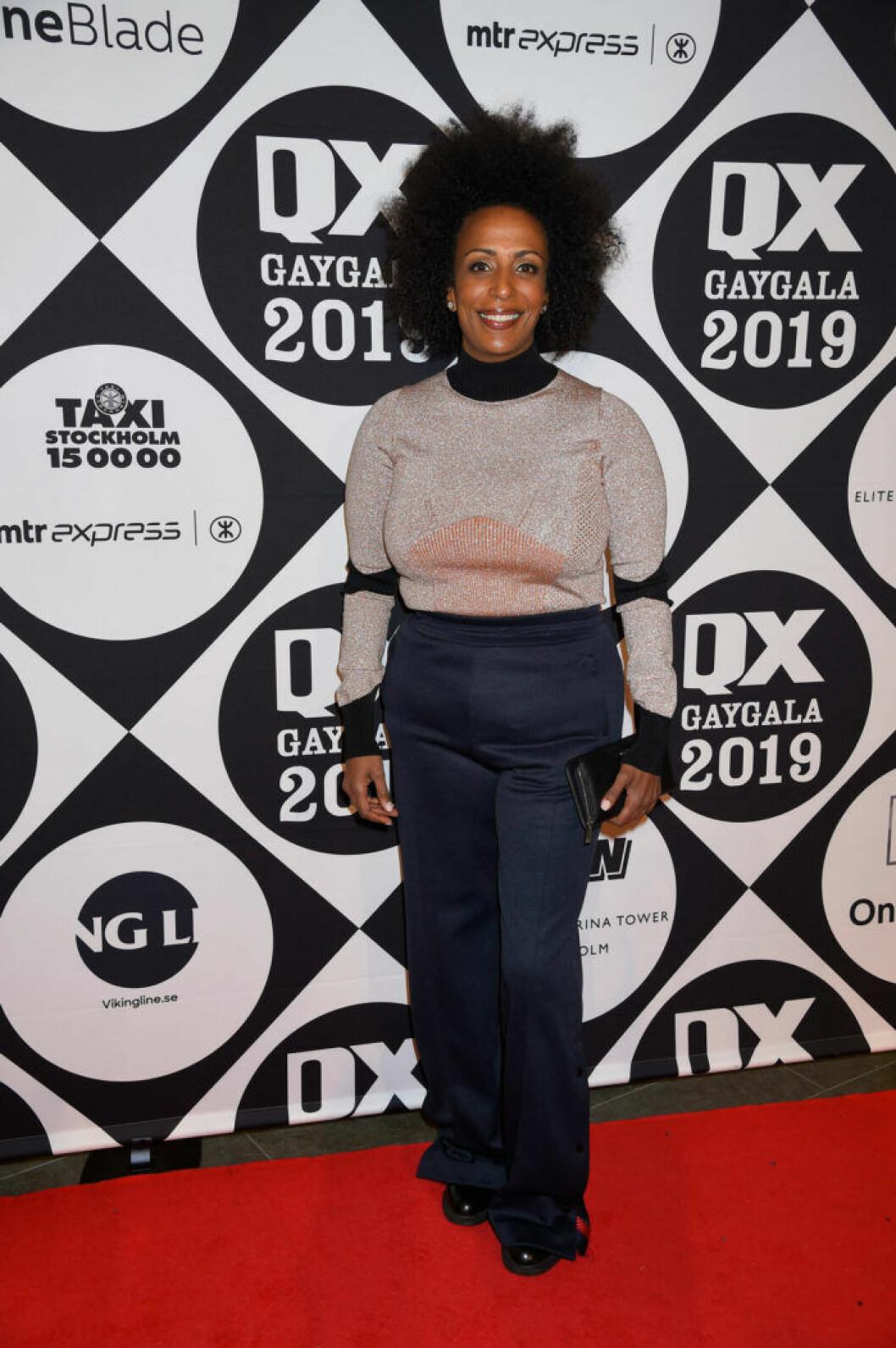 Marika Carlsson på QX-galan 2019