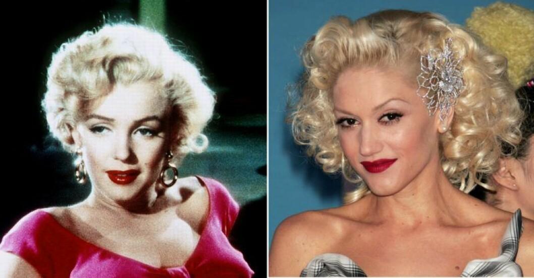 Marilyn Monroe och Gwen Stefani.