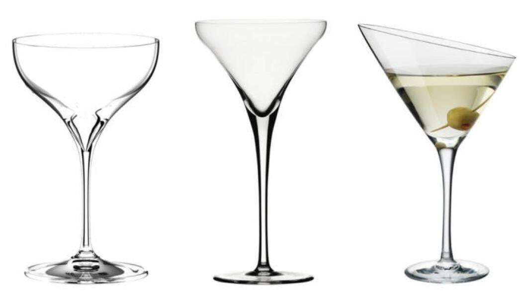 martiniglas vodkadrinkar