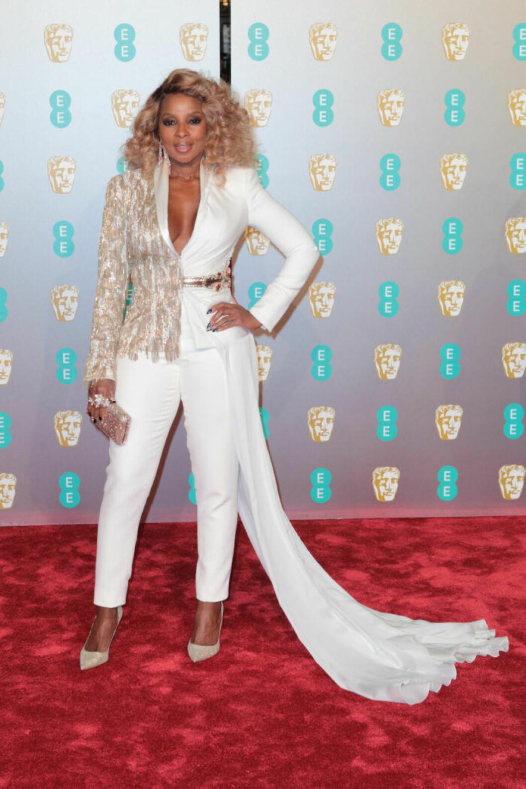 Mary J. Blige på BAFTA 2019