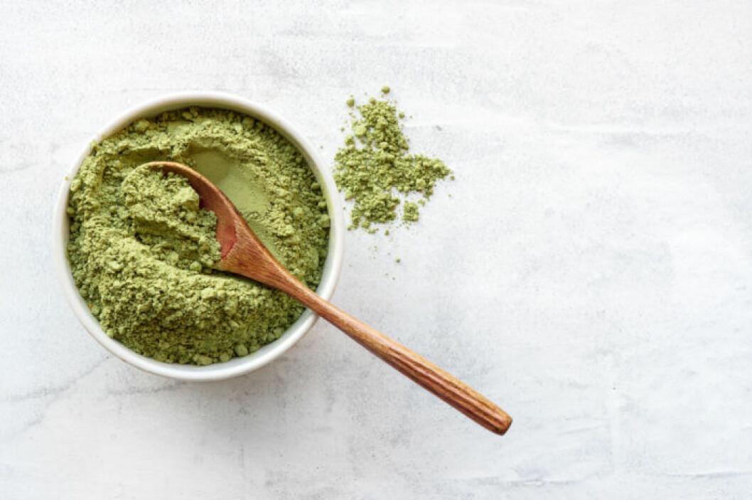 Matcha-te är rikt på antioxidanter.