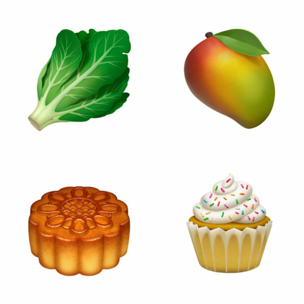 Apple släpper 70 nya emojis.