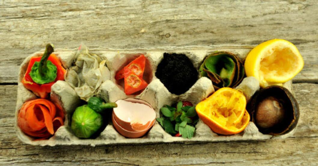 Det matsvinn som faktiskt är sopor kan bli matjord, med ett zero waste-tänk.