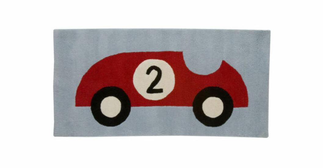 Matta med bil