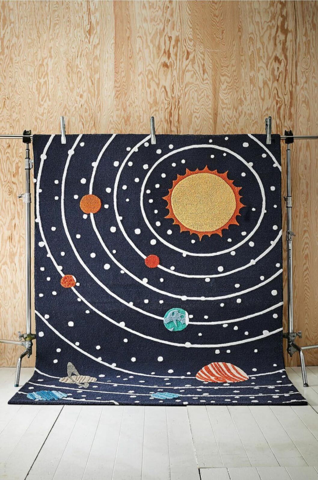 fin rymdmatta för barn