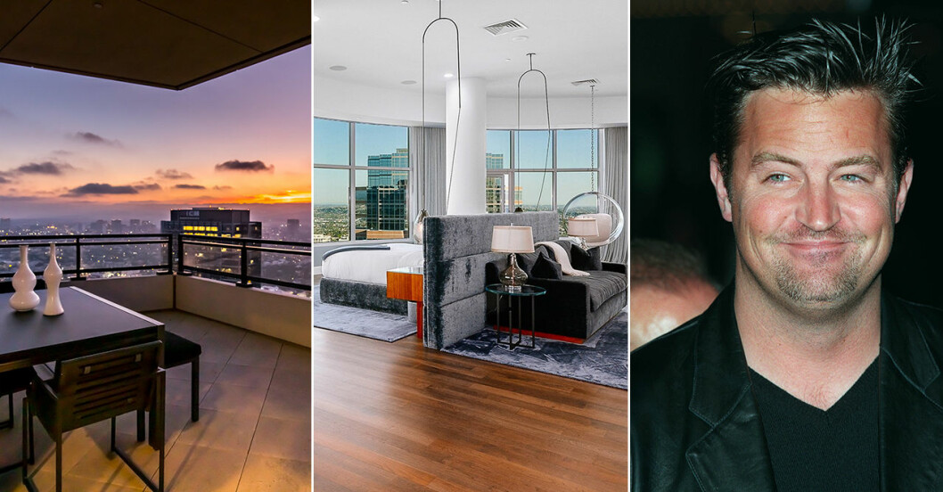 Matthew Perry säljer sin takvåning i Los Angeles