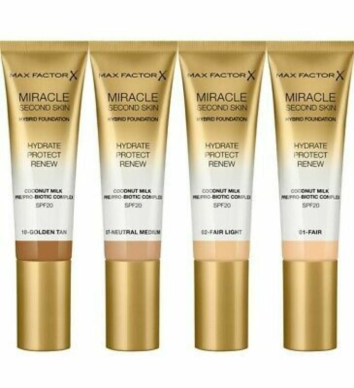 foundation med hudvårdande ingredienser från max factor