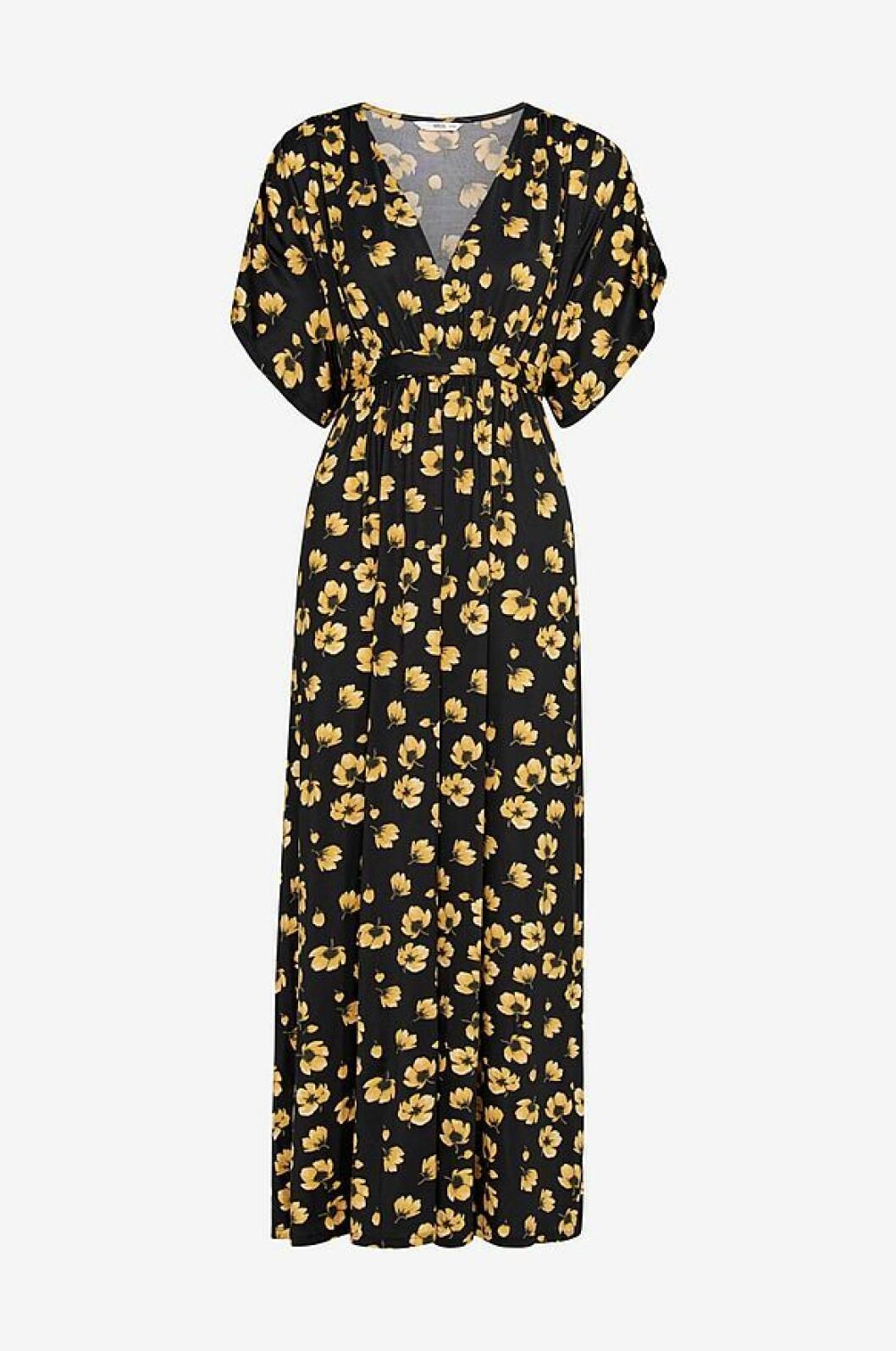 Maxiklänning med blommor