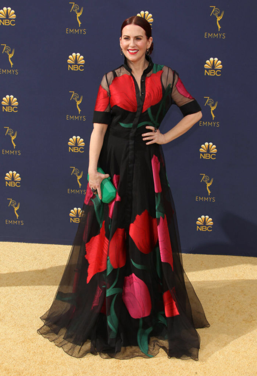 Megan Mullally Emmygalan 2018