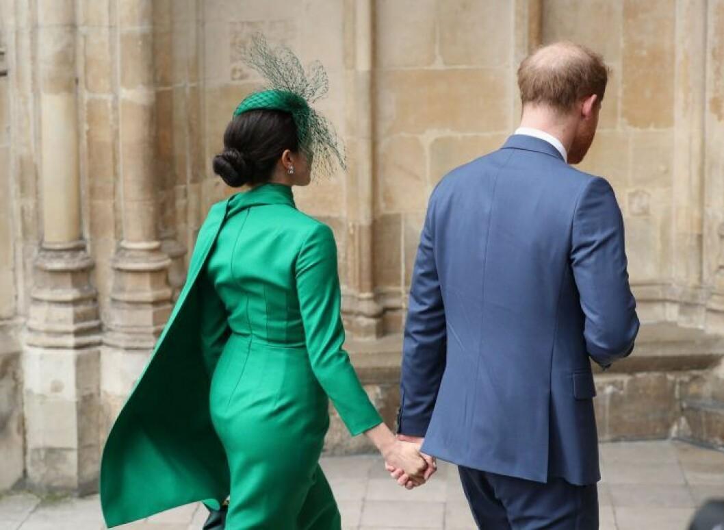 Meghan och prins Harry, deras sista uppdrag.