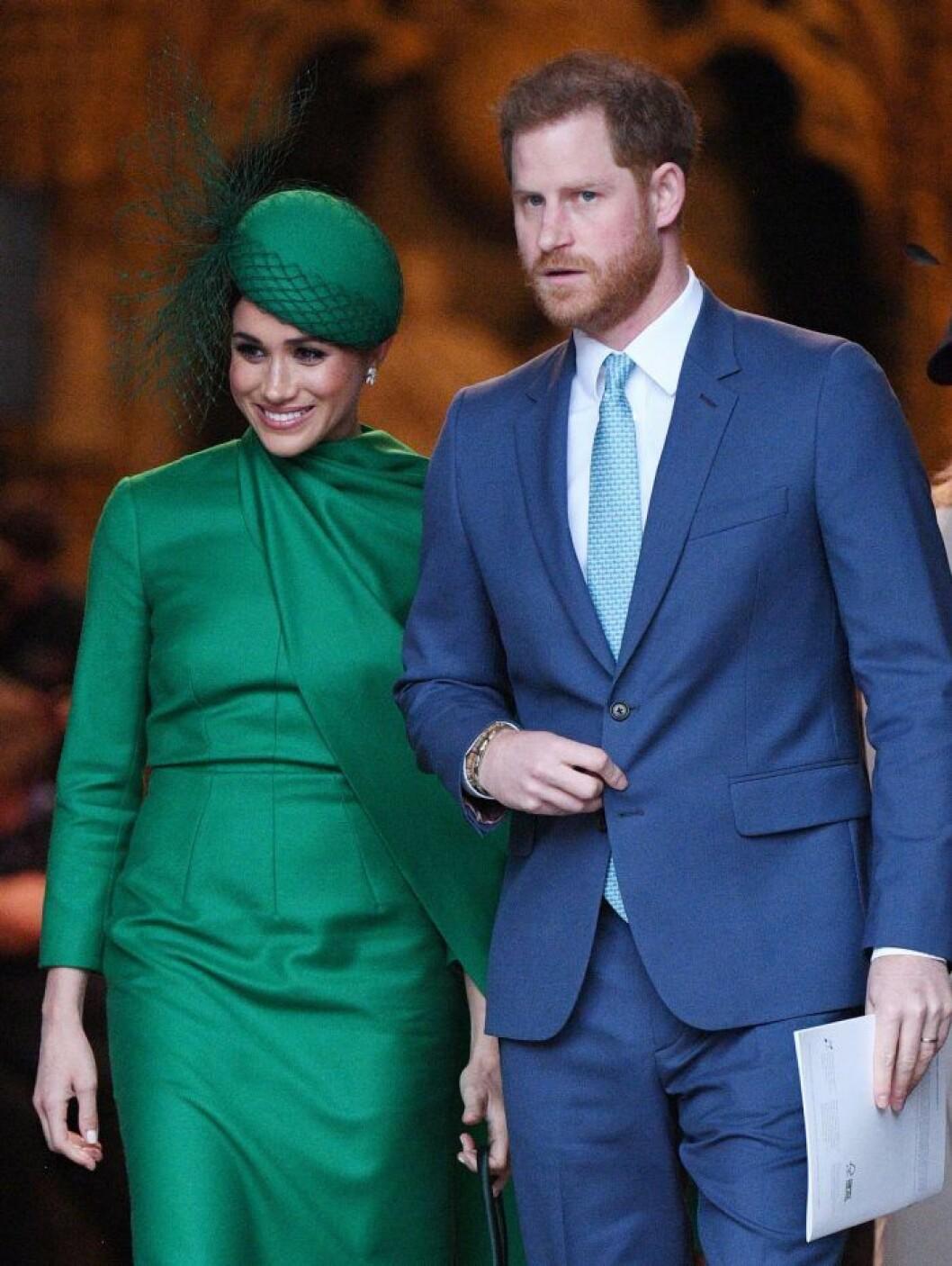 Meghan och prins Harry – det sista kungliga uppdraget.