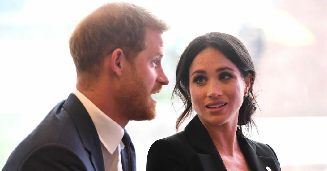 Meghan och Harry klipper banden med drottning Elizabeth