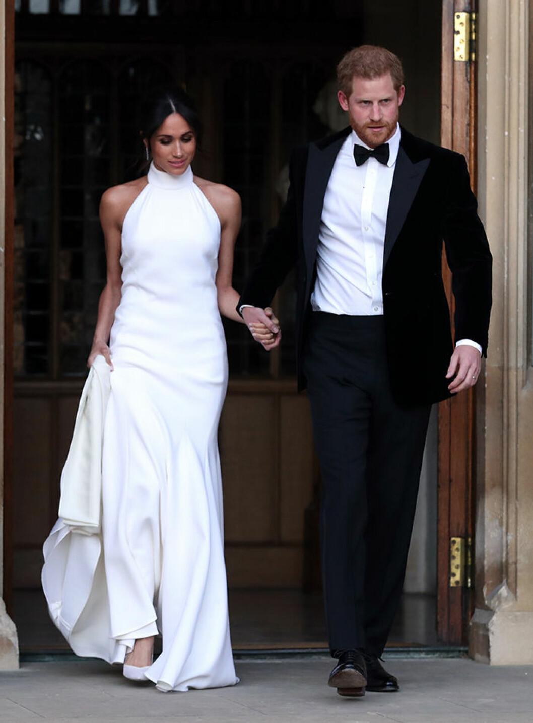 Meghan Markles andra bröllopsklänning av Stella McCartney