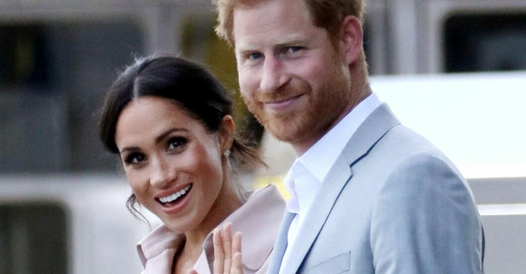 Meghan Markle och prins Harry väntar barn