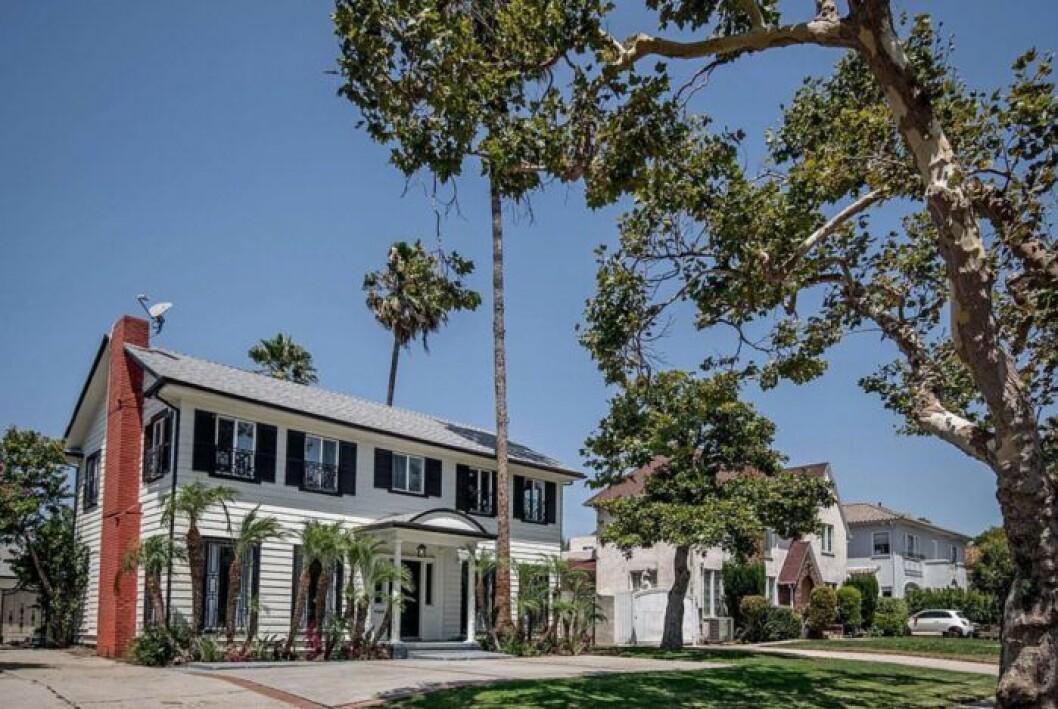 Meghan Markles gamla villa i Los Angeles