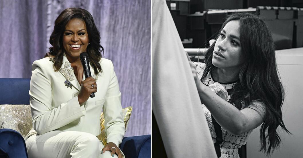 Meghan Markle intervjuar Michelle Obama i Vogue