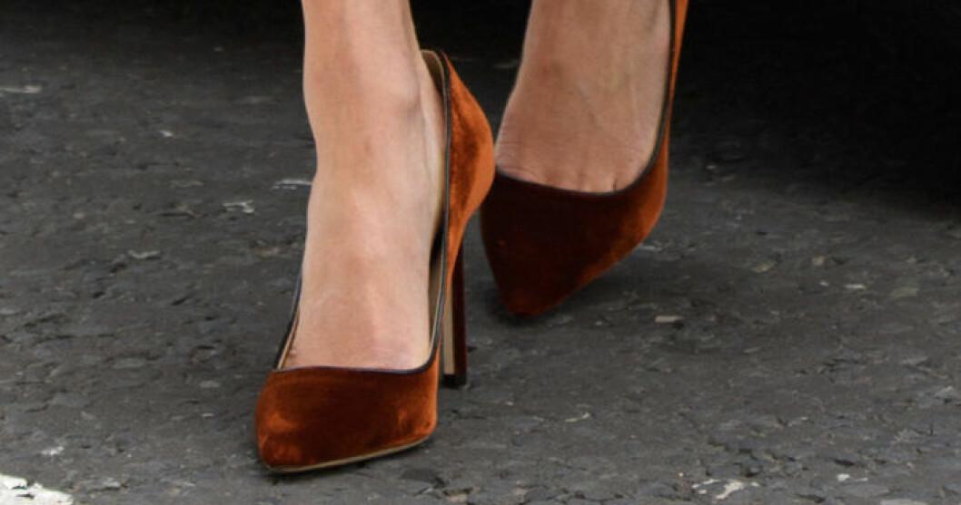 Meghan Markle för stora skor