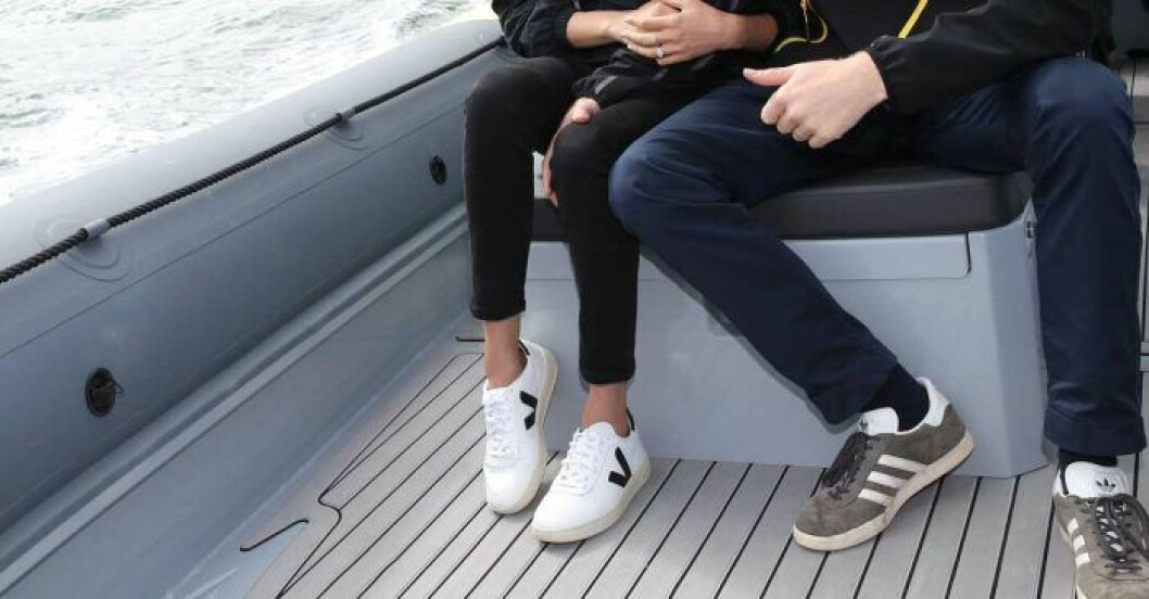 Meghans sneakers från Veja